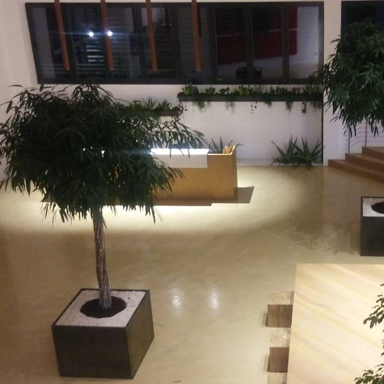 Sistema pavimento sede aziendale – steel Ground