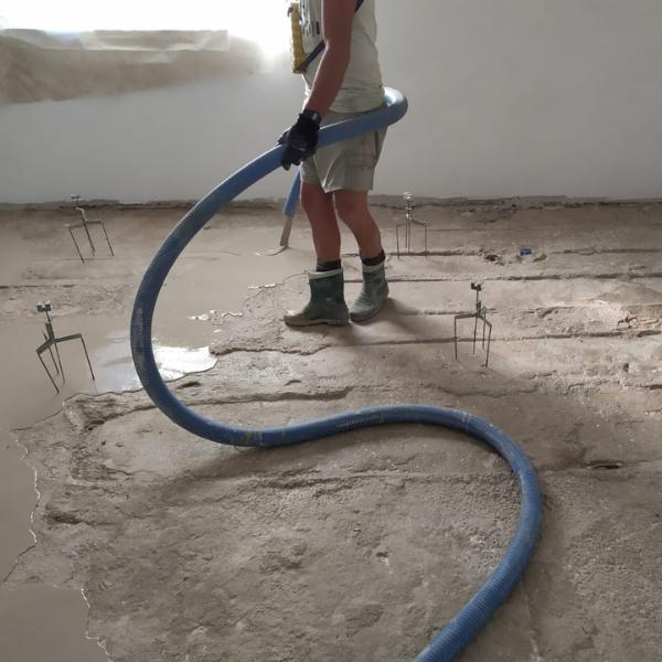 Nuovo sistema pavimento – Ristrutturazione abitazione singola